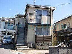 京都府京都市左京区修学院水川原町の賃貸アパートの外観