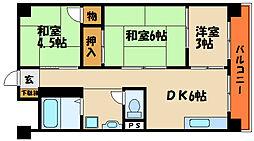 生頼第一ビル[4階]の間取り