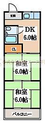 仁田マンション[1階]の間取り