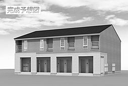 富山県富山市本郷町の賃貸アパートの外観