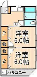 第二TKビル[301号室]の間取り