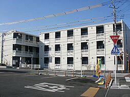埼玉県草加市青柳3丁目の賃貸マンションの外観