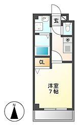 サンシャイン白菊[2階]の間取り