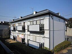 埼玉県川口市桜町5-の賃貸アパートの外観
