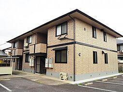 愛知県岡崎市真伝町の賃貸アパートの外観