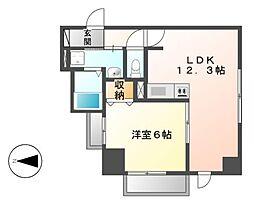 P−SQUARE Shumoku[4階]の間取り
