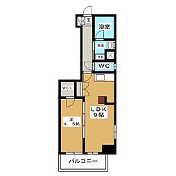 エステムプラザ名古屋丸の内[2階]の間取り
