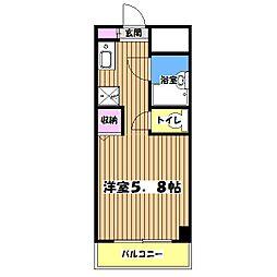 Eighty eightタチカワ[3階]の間取り