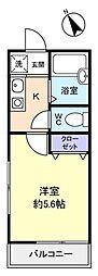ブオナスタンザ高根台[2階]の間取り