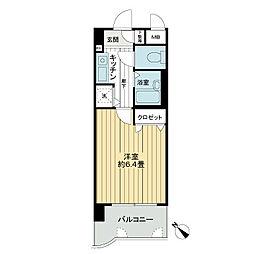 ライオンズマンション小倉駅南第2[3階]の間取り