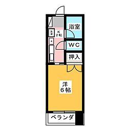 三恵ハイツ[5階]の間取り