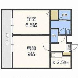 Lennon Terraza6-3[7階]の間取り