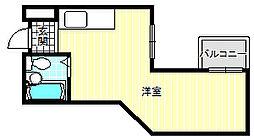 アレグリアプレイス駒川[5階]の間取り