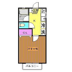CITY39[2階]の間取り