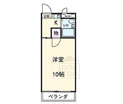 SIMON茶屋が坂[4階]の間取り