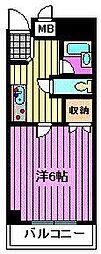 サンセールナラ[2階]の間取り