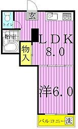 KODAガーデン[207号室]の間取り