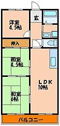 ハイツマコーレ[3階]の間取り