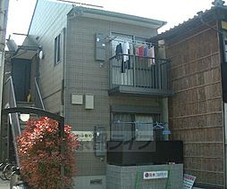 京都府京都市左京区浄土寺石橋町の賃貸アパートの外観