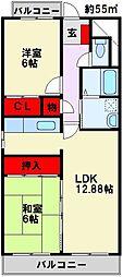 新栄ビル[4階]の間取り