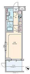 ロアール武蔵新田[3階]の間取り