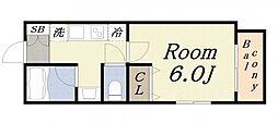 GRANDEL・K[6階]の間取り