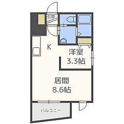 北海道札幌市中央区北一条西16丁目の賃貸マンションの外観