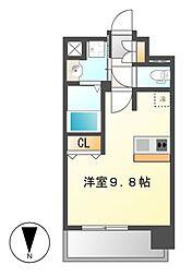 プレサンス大須プライマル[9階]の間取り