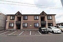 新潟県新潟市中央区女池8丁目の賃貸アパートの外観