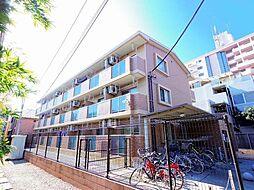 東京都清瀬市野塩5丁目の賃貸マンションの外観