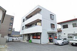 岡山県岡山市北区今村の賃貸マンションの外観