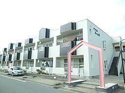 三重県松阪市川井町の賃貸アパートの外観