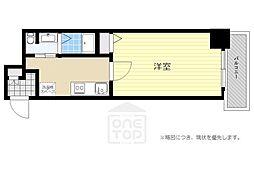 ブリリアント大阪西[5階]の間取り