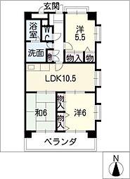 HILLS21[7階]の間取り