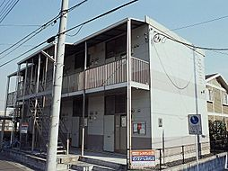 埼玉県さいたま市北区別所町の賃貸アパートの外観