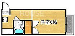メゾン紫明[101号室号室]の間取り