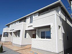 徳島県徳島市応神町東貞方字諏訪ノ市の賃貸アパートの外観