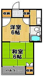 コンフォート[3階]の間取り