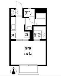 マーガレットハウス湘南台[1階]の間取り
