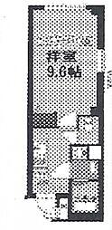神奈川県横浜市南区高根町1丁目の賃貸マンションの間取り