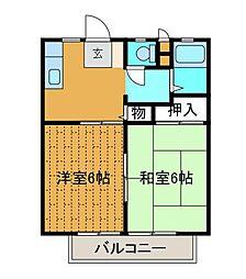 パブリシティX[2階]の間取り