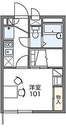 美I[2階]の間取り