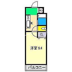 MINT  HOUSE[2階]の間取り