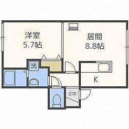 FS39[1階]の間取り