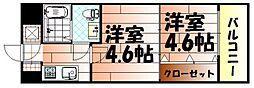 No.47 PROJECT2100小倉駅[14階]の間取り