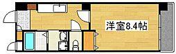 ロイヤルマンション国分II[203号室]の間取り