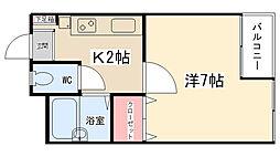 ニューアイコウマンション[302号室]の間取り