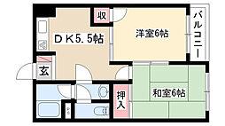 愛知県名古屋市南区鳥栖2丁目の賃貸マンションの間取り