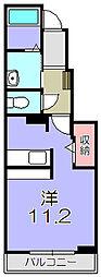キルシェII[1階]の間取り