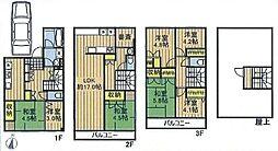 [一戸建] 埼玉県戸田市笹目4丁目 の賃貸【/】の間取り